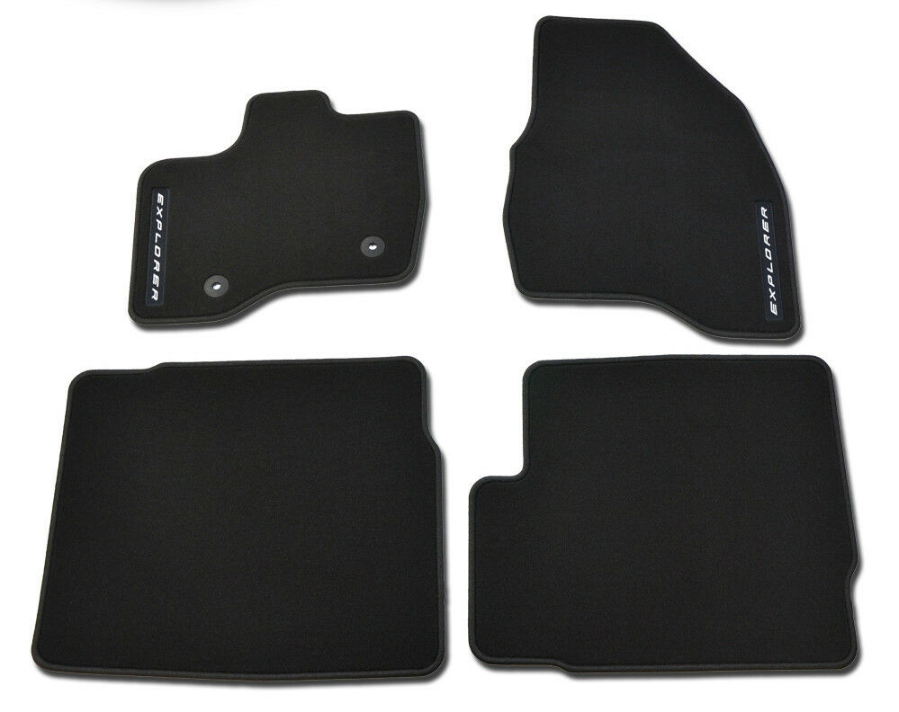 Oem New 2015 Ford Explorer Premium Carpet Floor Mats Black