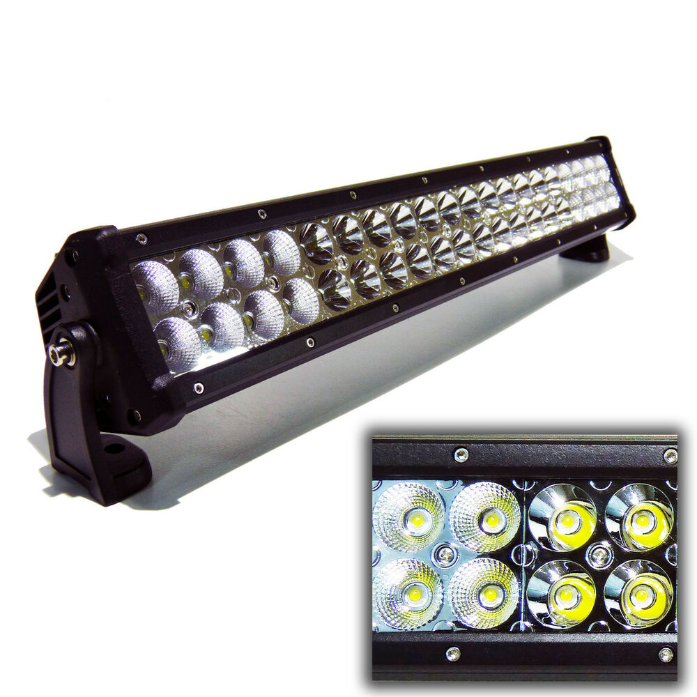 20inch 120W LED Spot Flood Work Light Bar Driving Off-Road