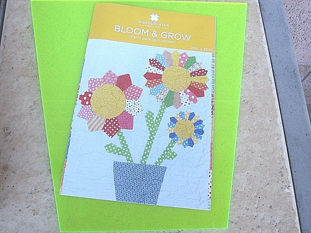 10 quot layer cake tumbler template bloom grow charm pack