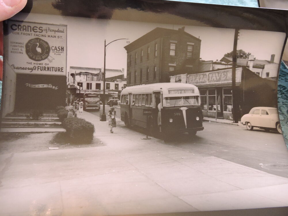 1948 Hempstead Bus Long Island Li New York Ny Nassua