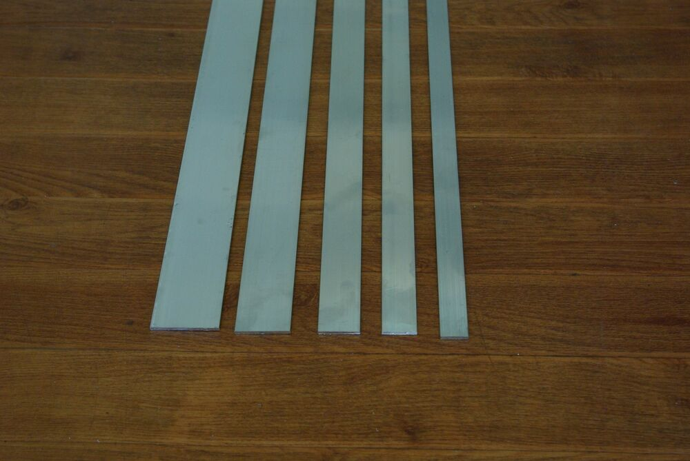 Aluminium flat bar  mm wide