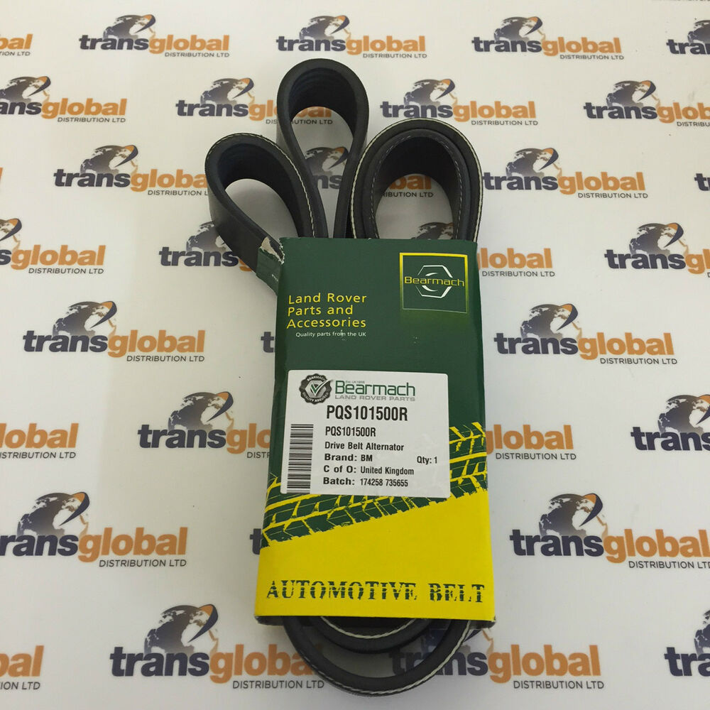 Land Rover Discovery 2 TD5 Drive Fan Belt With A/C Air Con