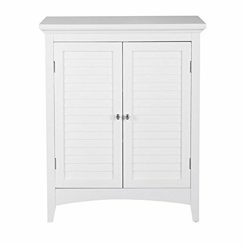 slone floor cabinet cupboard with 2 doors for bathroom storage white espresso ebay. Black Bedroom Furniture Sets. Home Design Ideas