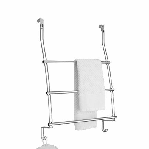 Over The Door Towel Rack Bathroom: InterDesign Classico Over The Shower Door Towel Rack , New