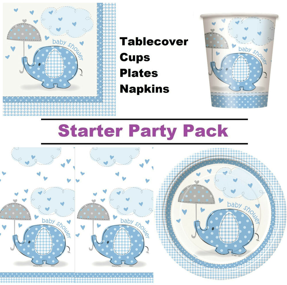 baby shower 8 48 guest party pack cups plates napkins ebay