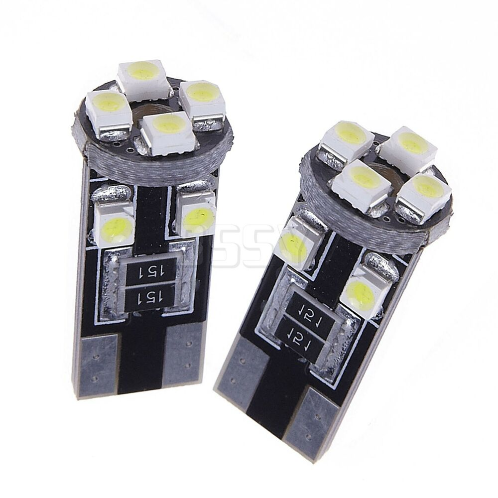 10 x canbus led w5w t10 8 smd standlicht innenraum beleuchtung lampen wei 12v ebay. Black Bedroom Furniture Sets. Home Design Ideas