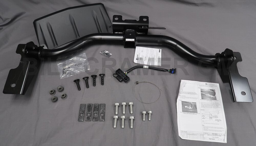 2010 2016 Cadillac SRX GM OEM Trailer Hitch Package NEW