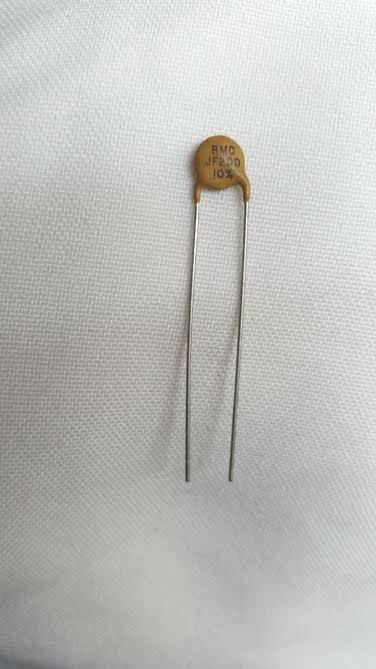5 Pieces Ceramic Disc Capacitor 200pf Pico Farad 1kv 1000