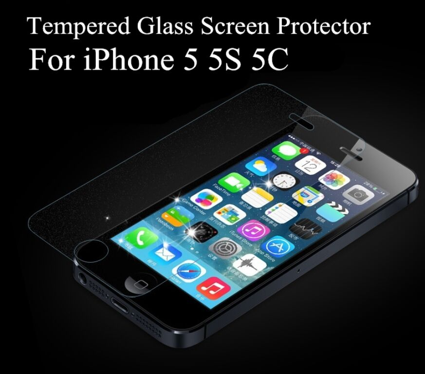 glass screen protector iphone 5s for iphone 5 5s 5c se 40mm tempered shatterproof glass 16994