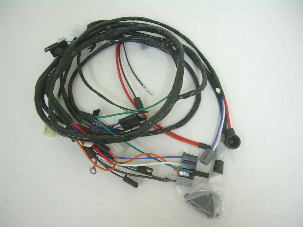 1967 Impala Belair Caprice Forward Front Light Wiring