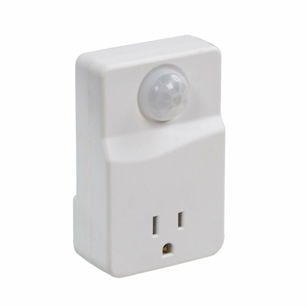 Westek Mlc4bc Indoor Plug In Motion Activated Light