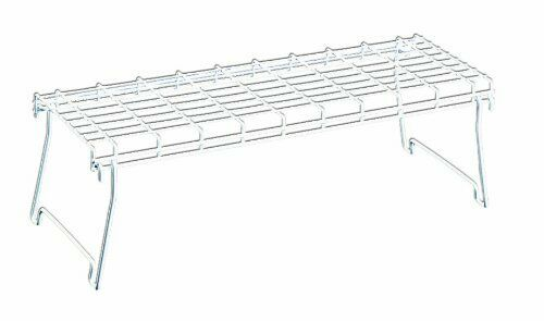 Wire World Large Stacking Shelf White New Free