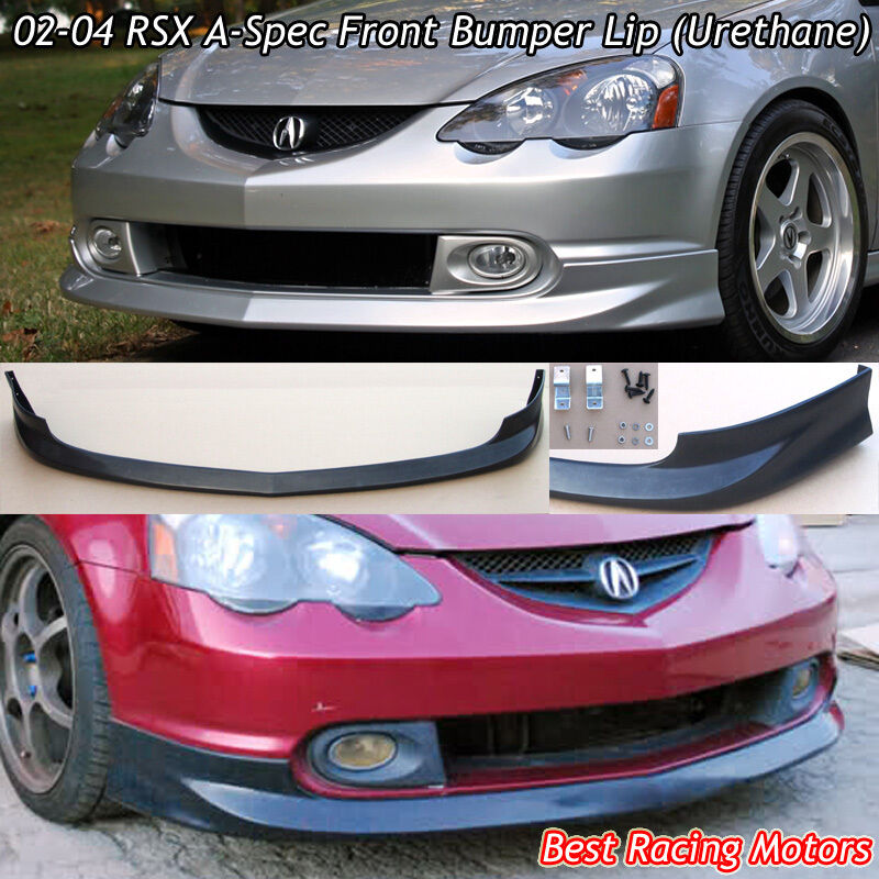 A-Spec Style Front Bumper Lip (Urethane) Fits 02-04 Acura