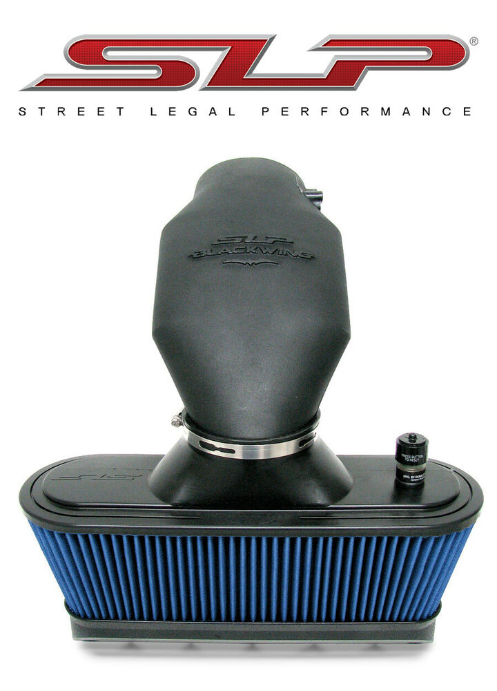 1997 Chevrolet S 10 2006-2013 C6 Corvette SLP Blackwing Cold Air Intake + 10HP ...