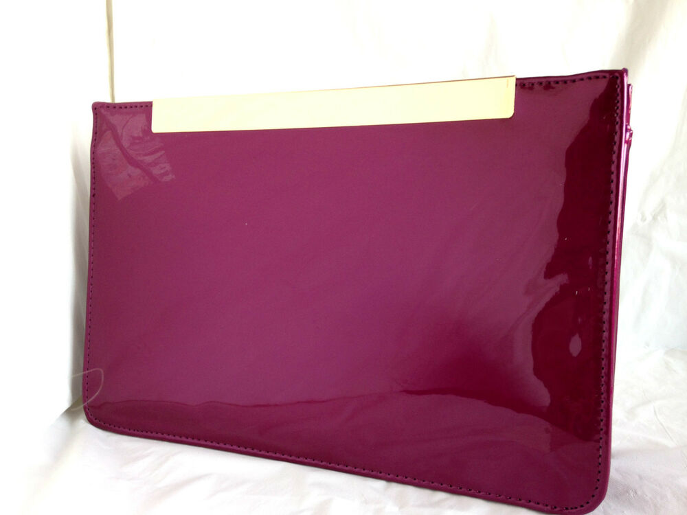 56e99b29aeba New burgundy wine red faux patent leather evening day jpg 1000x750 Red navy handbag  burgundy lace