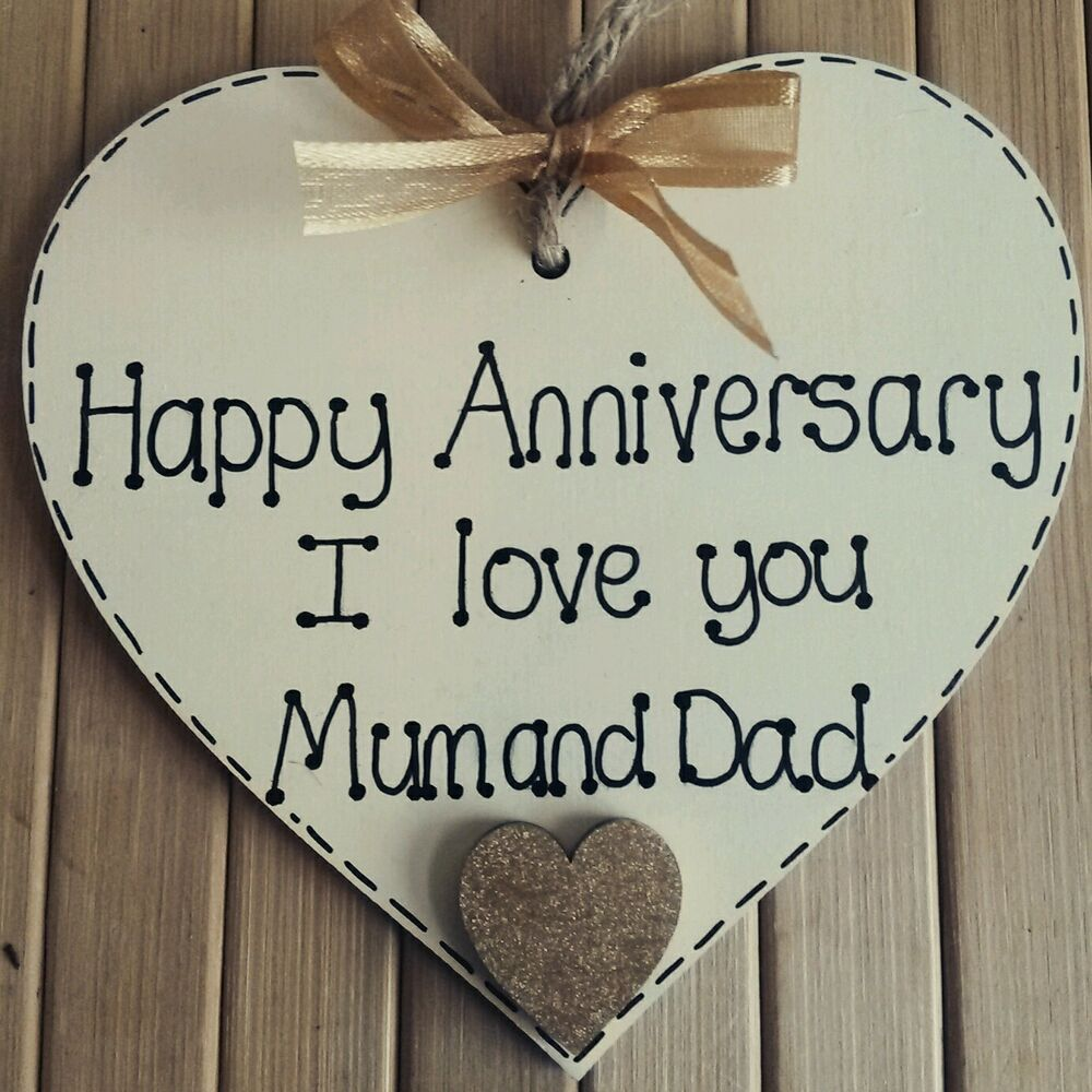 25th Wedding Anniversary Gifts For Mum And Dad: Personalised Wedding Anniversary Gift For Mum & Dad