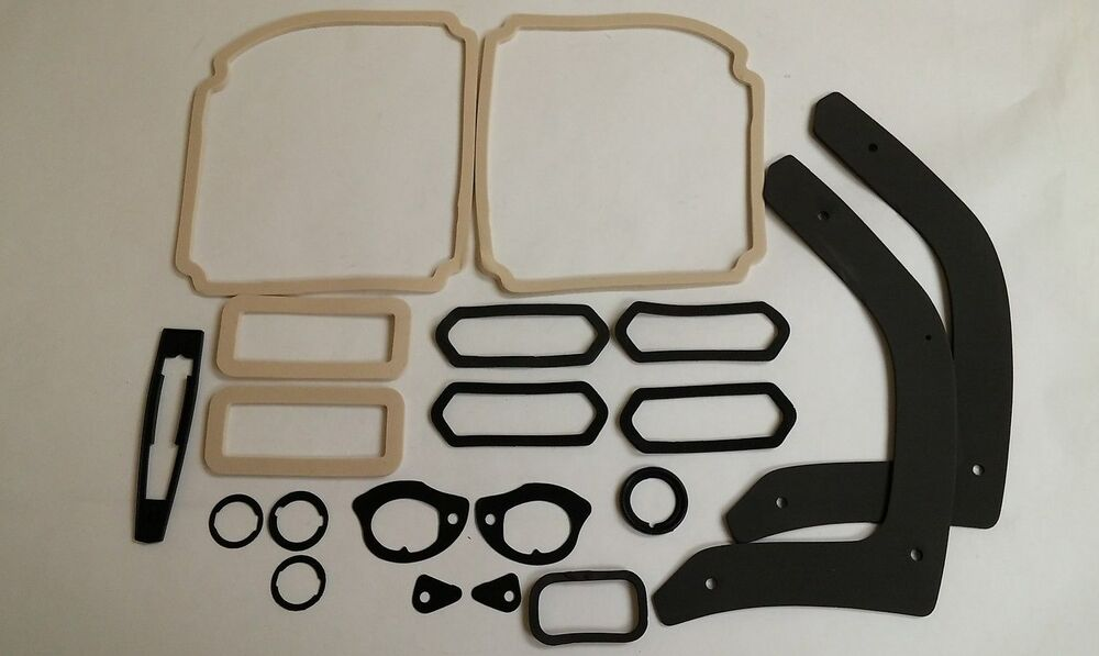 1969 69 Chevelle Paint Gasket Seal Kit Ss Tail Light