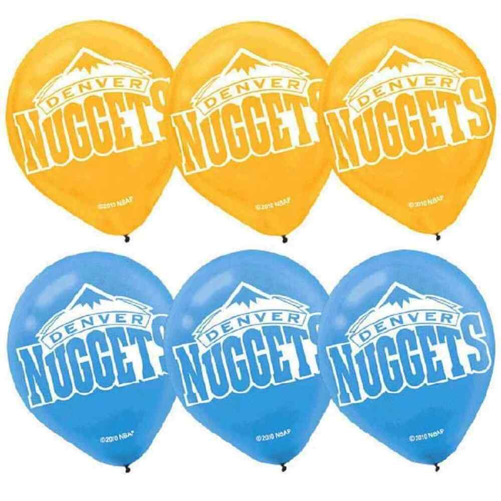 Nuggets Watch Party: Denver Nuggets NBA Pro Basketball Sports Party Decoration