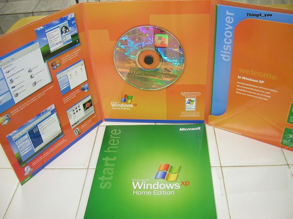 OEM Windows XP Home Edition w/ SP2 (Full Product)? | Yahoo ...