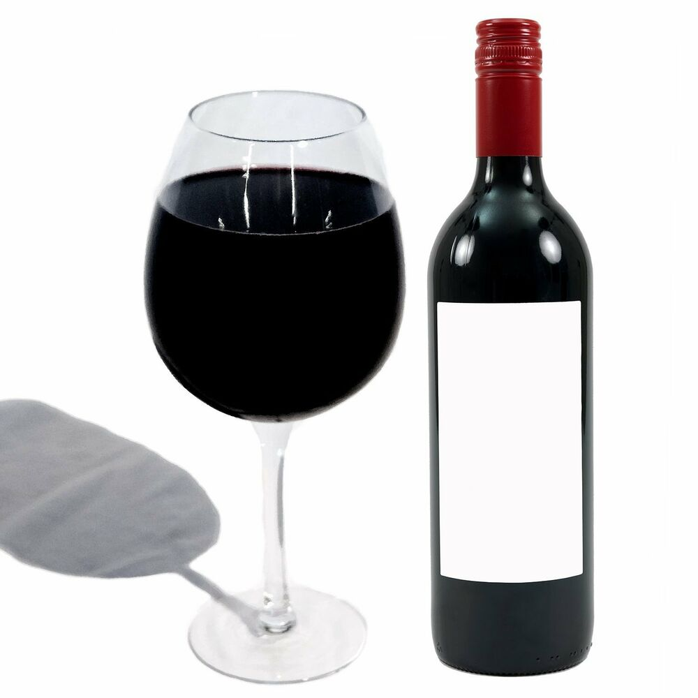 The big betty xl premium jumbo wine glass holds a whole for Large red wine glass