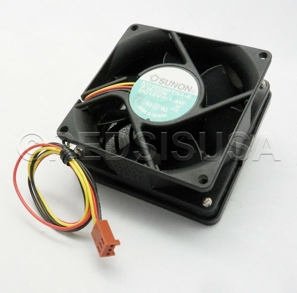 High Speed 12 Volt Cooling Fans : Sunon mm v high speed pc cooling fan kd pts