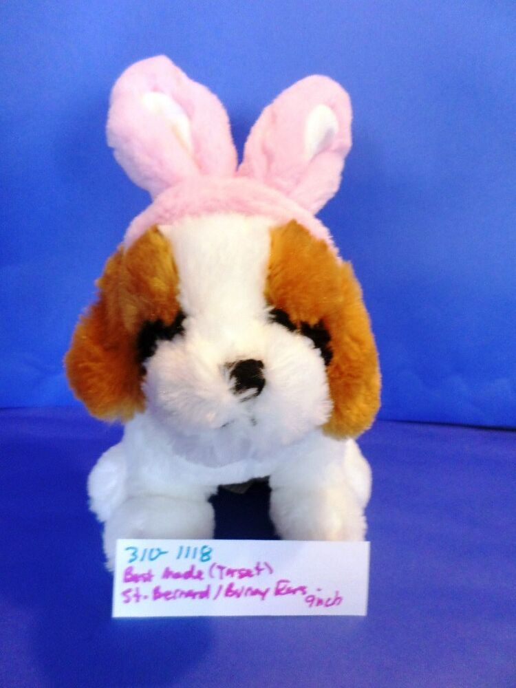 310 Best Images About Tarot On Pinterest: Best Made Toys(Target) Saint Bernard Puppy With Pink Bunny