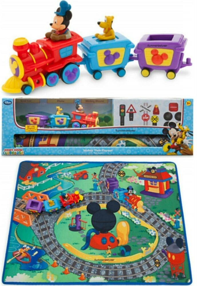 Disney Mickey Mouse Train Playmat Play Set Disney Store