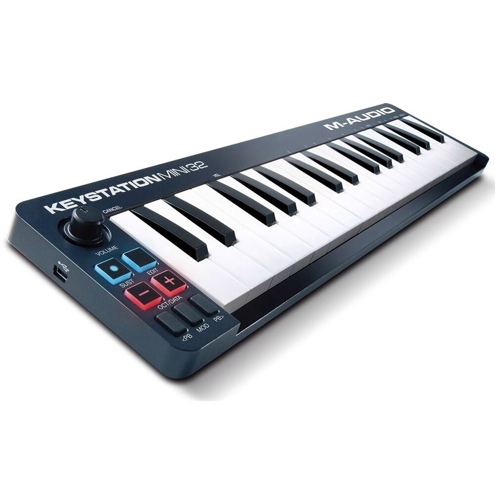m audio keystation mini 32 midi usb keyboard controller ableton live lite daw ebay. Black Bedroom Furniture Sets. Home Design Ideas