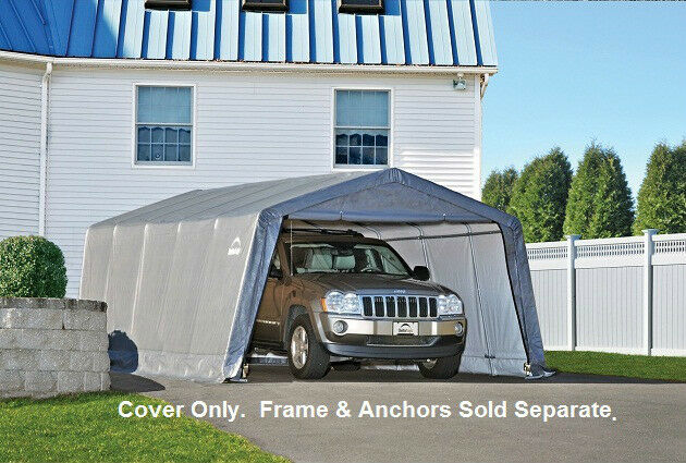 10x20 Portable Garage Replacement Cover : Shelterlogic replacement cover for
