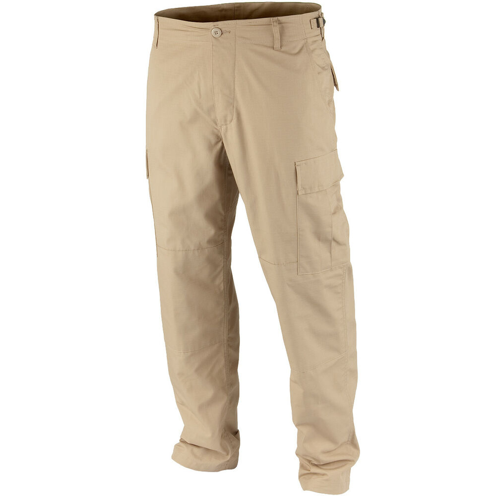 Teesar Mens Military BDU Patrol Trousers Army Combat ...