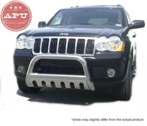 2011 2015 Jeep Grand Cherokee Stainless Bull Bar 3 Led Off Road Fog Lights Ebay