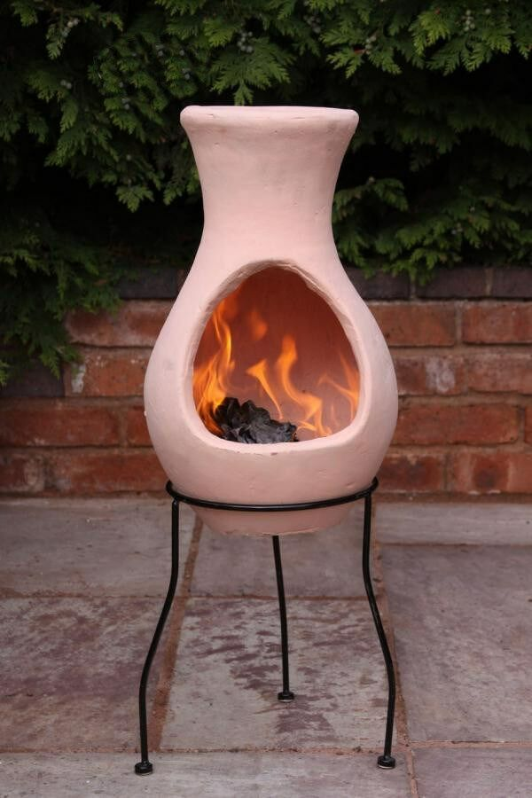 Clay Chiminea: Barbecuing & Outdoor Heating | eBay
