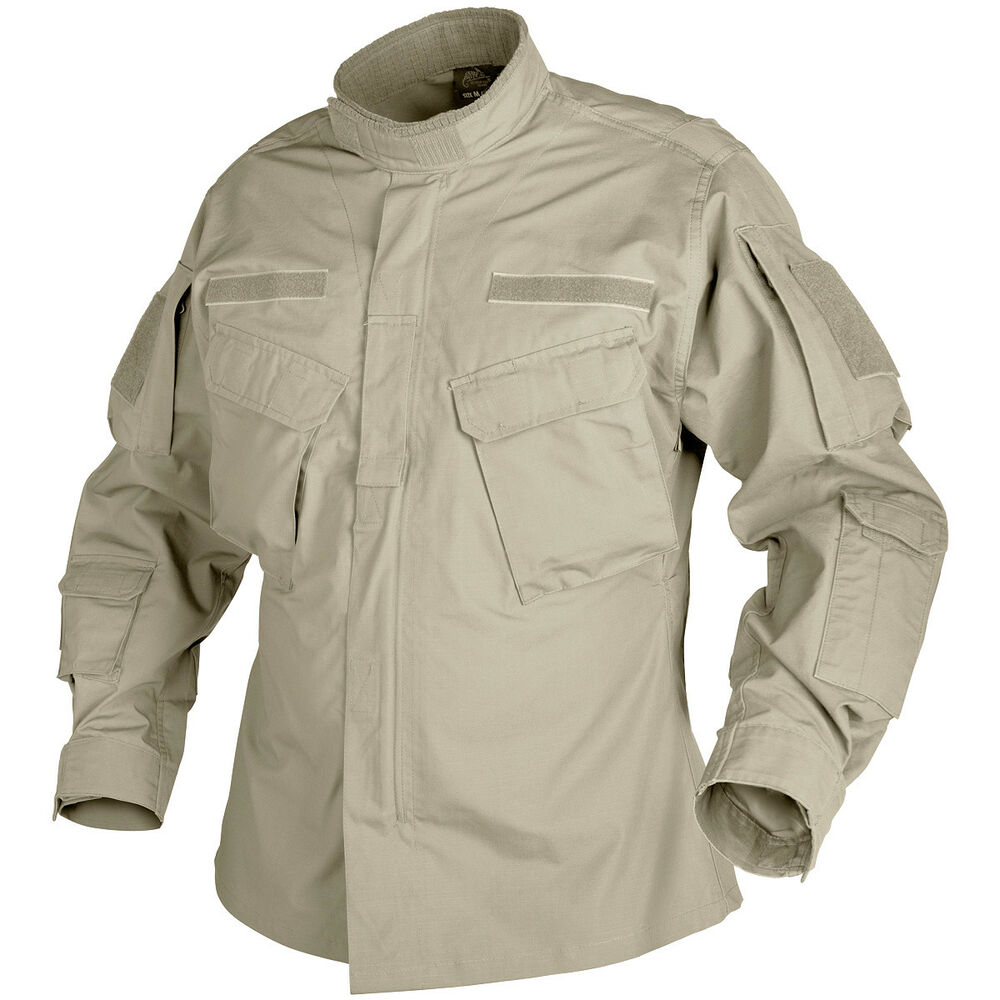 Helikon Tactical Military Cotton Ripstop Shirt CPU Mens ...