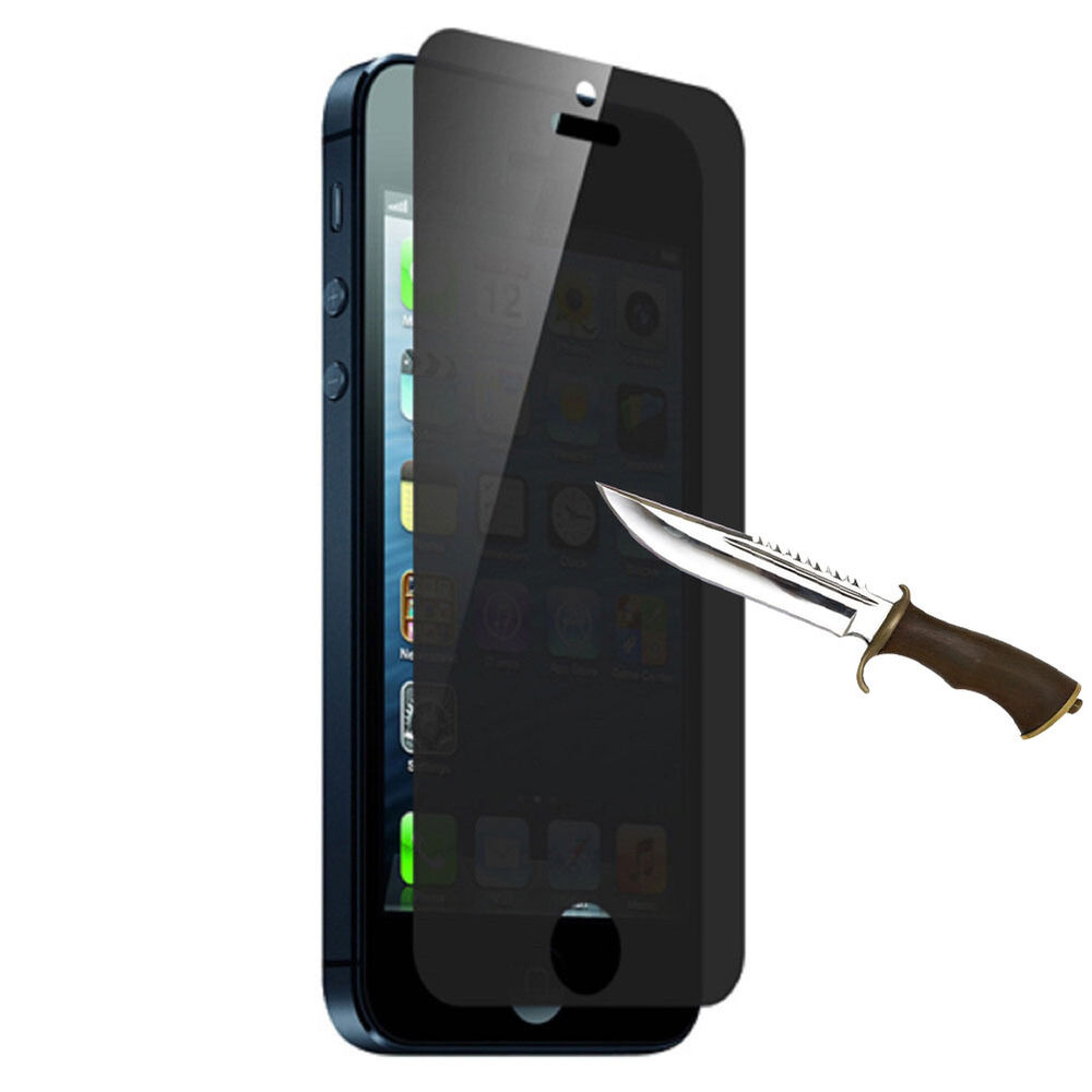 iphone 5s glass screen protector real privacy anti tempered glass screen protector 17475