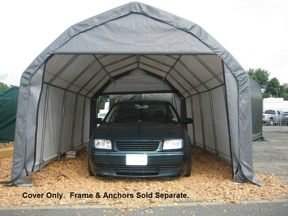 Shelterlogic Garage Replacement Covers : Shelterlogic replacement cover kit barn style