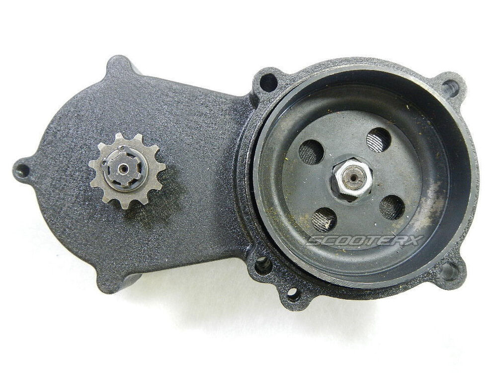 11 tooth gear box spare fits scooter go kart mini chopper. Black Bedroom Furniture Sets. Home Design Ideas