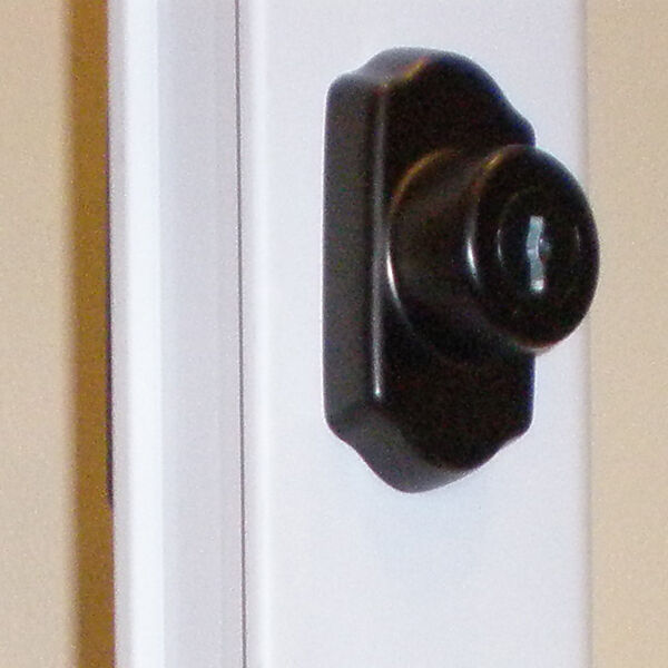 Storm Door Locking Deabolt Kit Oil Rubbed Bronze For 1