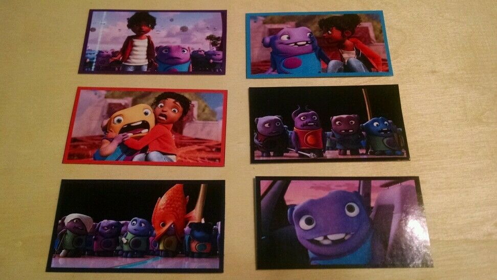 24 HOME dreamworks STICKERS, birthday party favors new movie decals ...