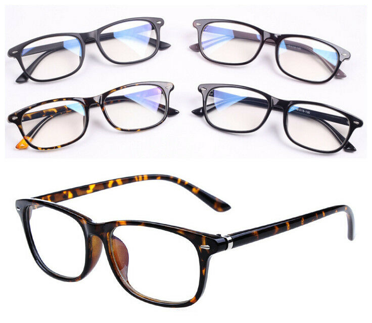 Eyeglass Frames Oval : Retro Vintage Oval Men Women Eyeglass Frame Full Rim ...