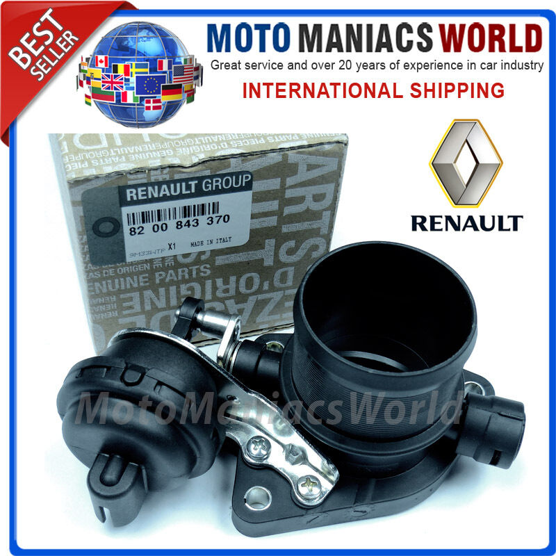 throttle body renault laguna scenic grand 2 mk2 diesel genuine oe ebay. Black Bedroom Furniture Sets. Home Design Ideas