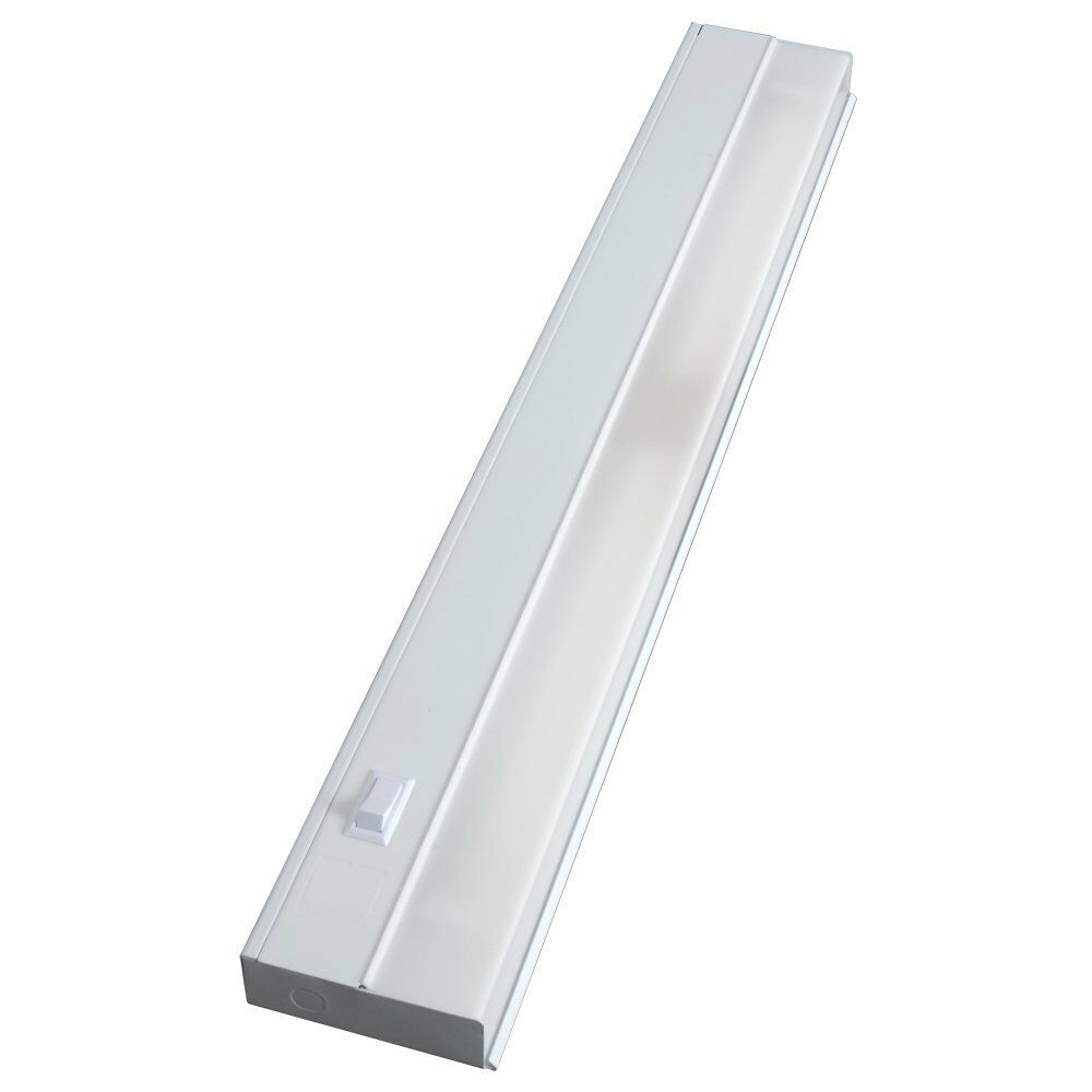 24 In Fluorescent Light Fixture White
