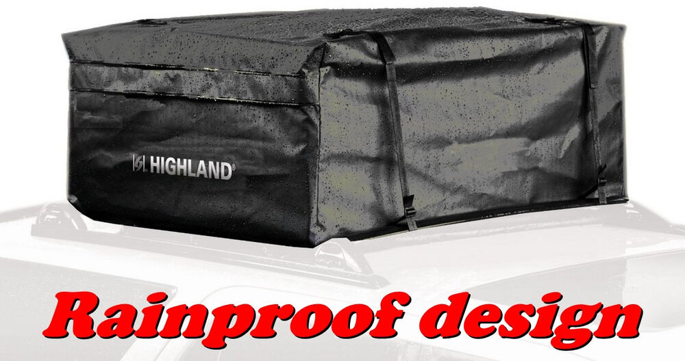 Roof Top Cargo Bag Highland Rainproof Luggage Carrier