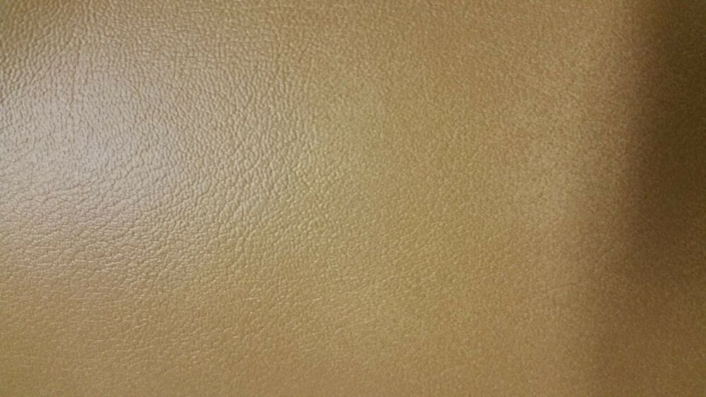 Tan Faux Leather Fabric Fake Leather Vinyl Upholstery 54