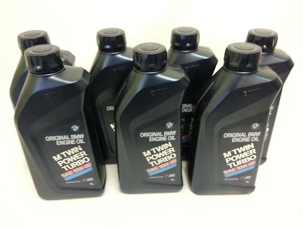 5 quarts new genuine bmw 10w60 synthetic motor oil m3 m5