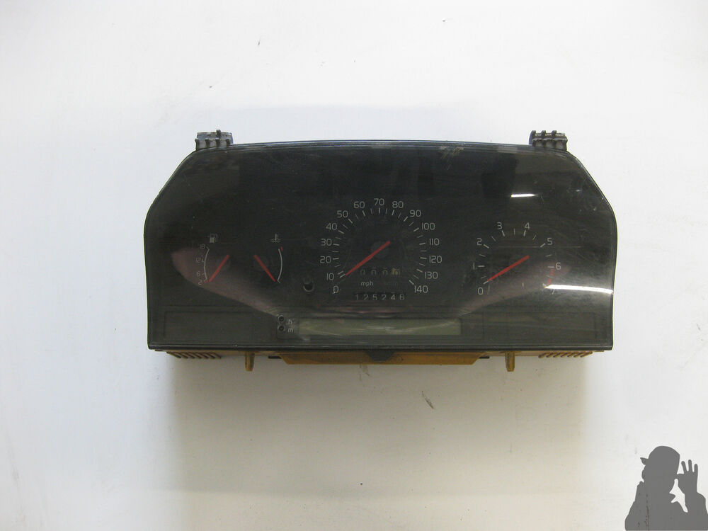 1992 volvo 850 9128092 instrument cluster gauges ebay. Black Bedroom Furniture Sets. Home Design Ideas