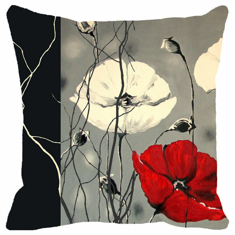 Throw Pillow Cover And Insert : Pillow Cushion Cover Insert Throw Decor Home Sofa Case Decorative Fashion Square eBay