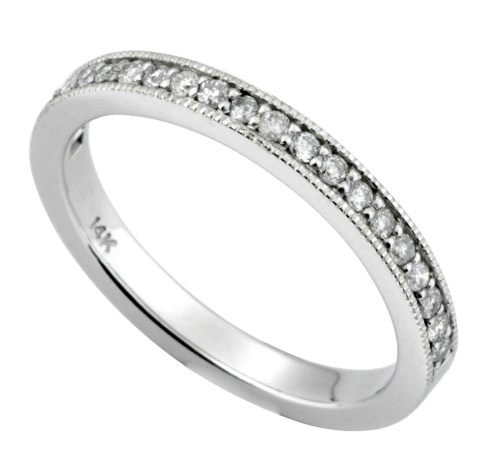 White Gold Wedding Rings For Women With Diamonds Diamond Wedding Ring B...