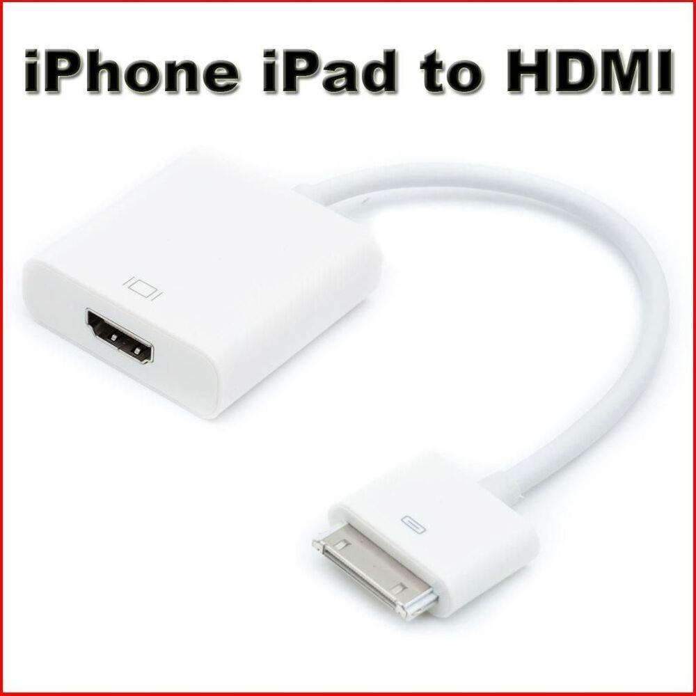 hdmi iphone to tv 1080p dock connector to hdmi tv adapter cable lead for 8731