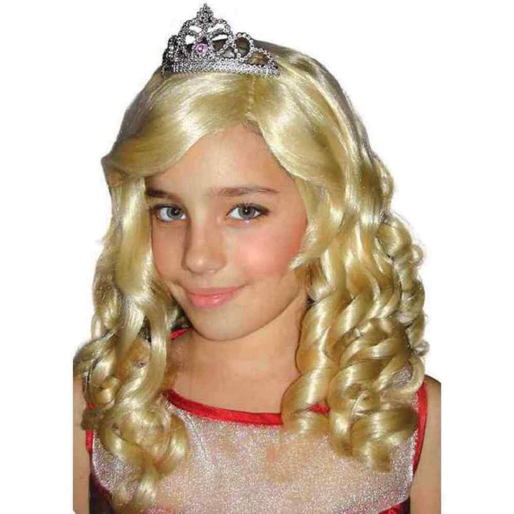 Halloween Costumes Sharpay Dress With Wig 96