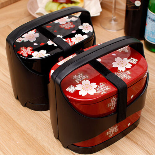 hakoya lunch box blossom bento lunch box vintage lunch box. Black Bedroom Furniture Sets. Home Design Ideas